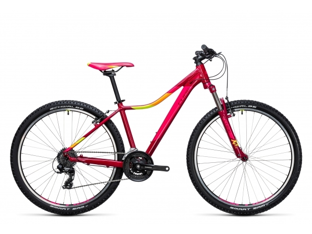 CUBE ACCESS WLS 27.5 (2017) berry´n´pink
