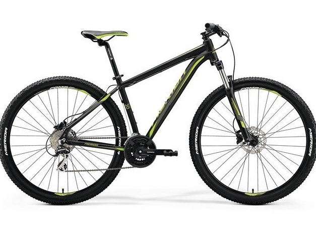MERIDA BIG.NINE 20-D 29 (2018) mattblack-green