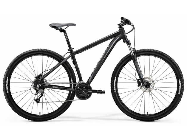 MERIDA BIG.SEVEN 40-D 27.5 (2018) mattblack-grey