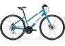 MERIDA CROSSWAY URBAN 20-D LADY (2017) metallic-blue-white