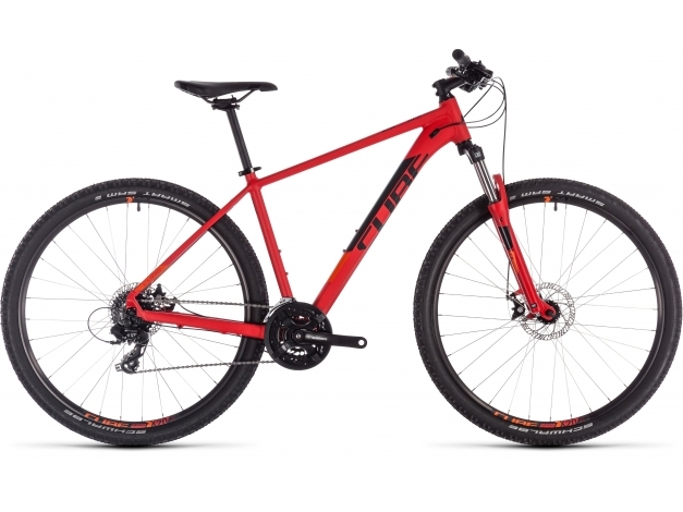 CUBE AIM 27.5 (2019) red-n-orange