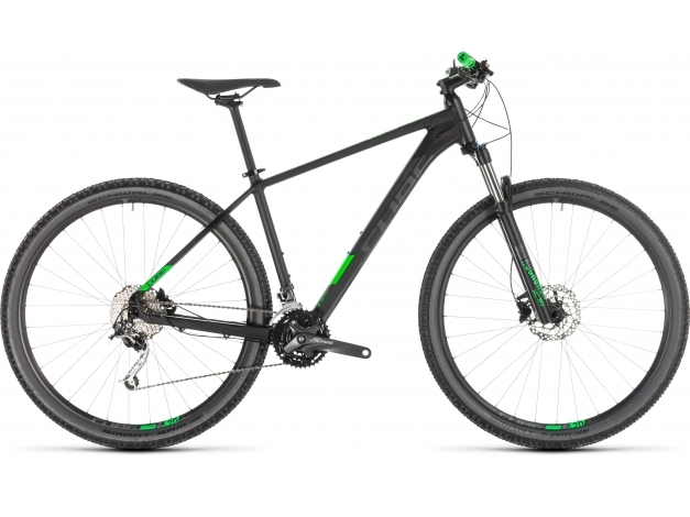 CUBE ANALOG 27.5 (2019) black-n-green